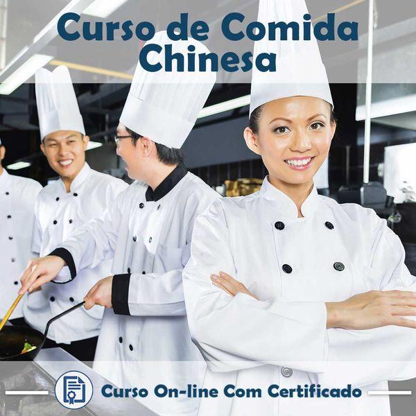 Imagem principal do produto Curso Comida Chinesa