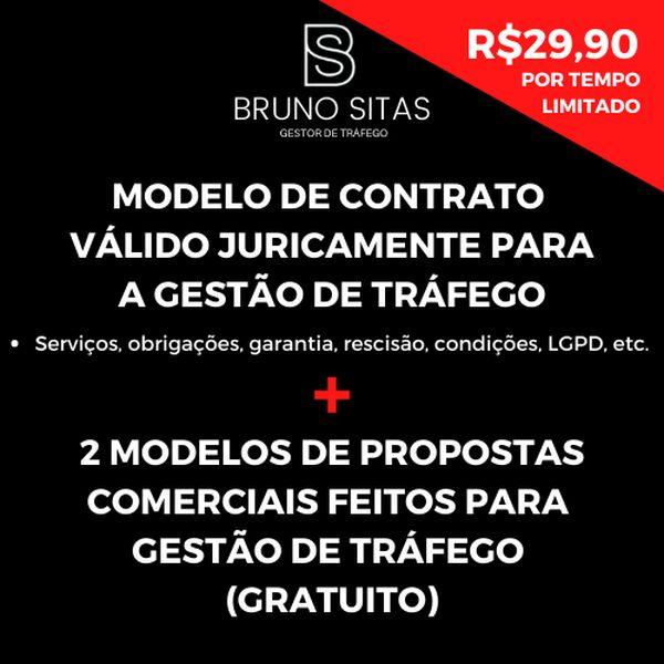 Imagem principal do produto Contrato Para Gestão de Tráfego + Proposta Comercial