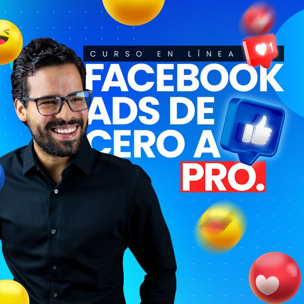 Imagem principal do produto Facebook Ads de Cero a Pro