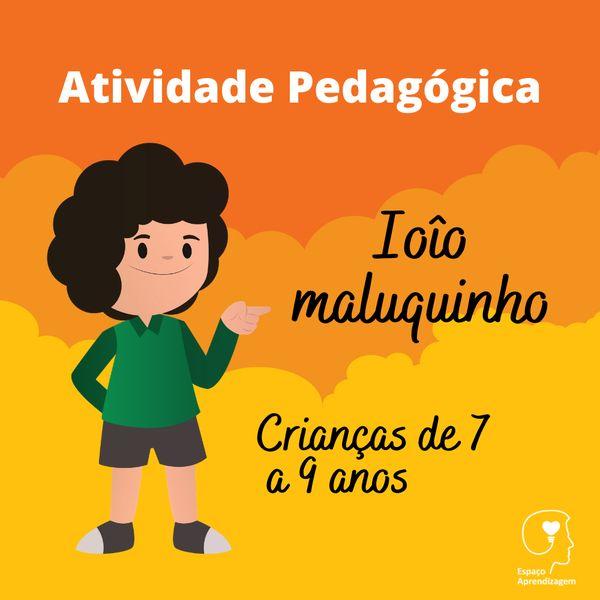 Imagem principal do produto Ioiô maluquinho - Separação de sílabas Letra I