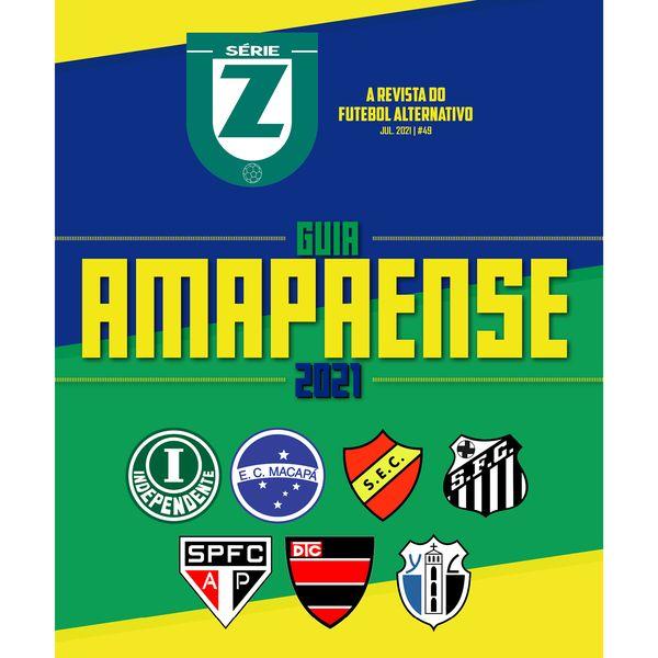 Imagem principal do produto Guia Campeonato Amapaense 2021 (Revista Série Z #49)