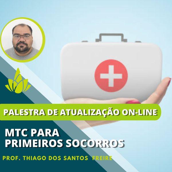 """Imagem principal do produto Ambulatório On-line """"MTC para os Primeiros Socorros"""""""