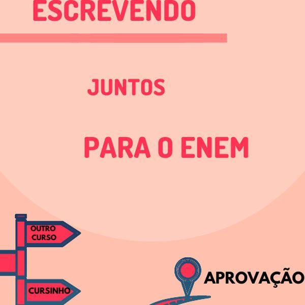 Imagem principal do produto ESCREVENDO JUNTOS PARA O ENEM