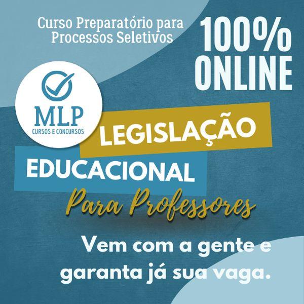 Imagem principal do produto Cursinho Legislação Educacional