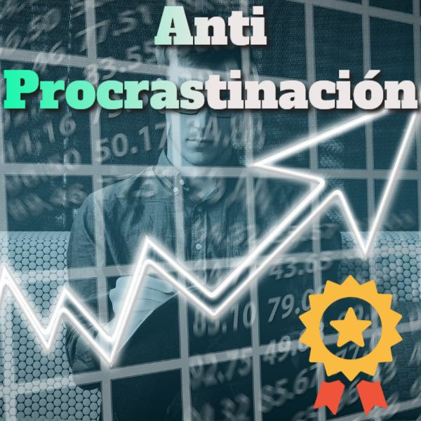 Imagem principal do produto Anti Procrastinación   Audio Subliminal para eliminar la Pereza