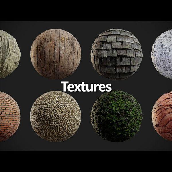 Imagem principal do produto 1.2 TB em Texturas PBR 4K - Quixel Megascans