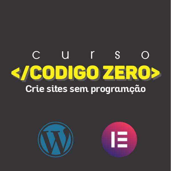 Imagem principal do produto CURSO CÓDIGO ZERO