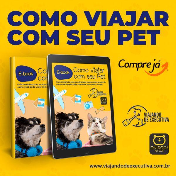 Imagem principal do produto E-book: Como Viajar com seu PET