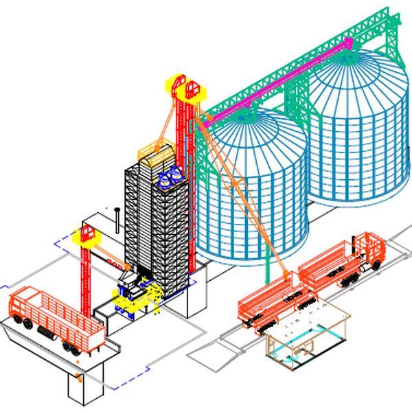 Imagem principal do produto Blocos para Desenvolvimento de Projetos de Silo