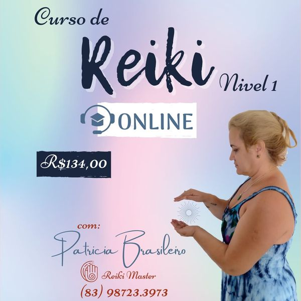 Imagem principal do produto Curso de Reiki Usui - Nivel 1
