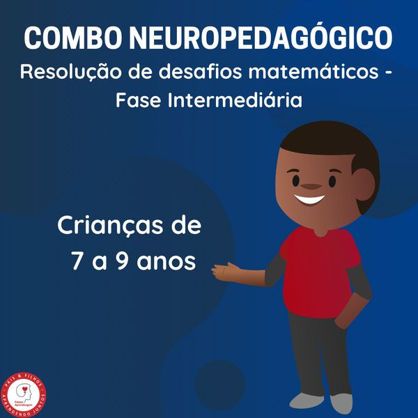 Imagem principal do produto COMBO 4 - Resolução de desafios matemáticos – Fase inicial (7 a 9 anos)