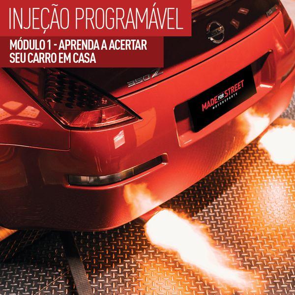 Imagem principal do produto Injeção Programável - Como calibrar seu carro em casa!