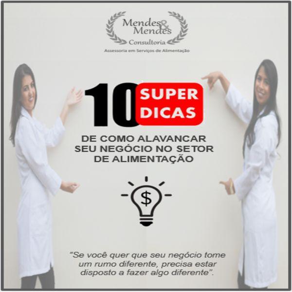 Imagem principal do produto 10 SUPER DICAS DE COMO ALAVANCAR SEU NEGÓCIO NO SETOR DE ALIMENTAÇÃO!