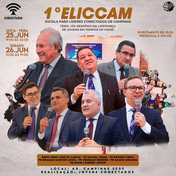 Imagem principal do produto  ELICCAM - ESCOLA PARA LÍDERES CONECTADOS DE CAMPINAS