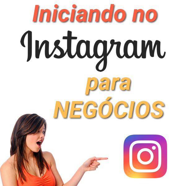 Imagem principal do produto Iniciando no Instagram para negócios