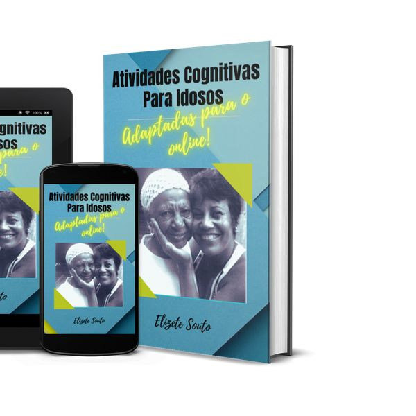 Imagem principal do produto Atividades Cognitivas para idosos adaptadas para o online