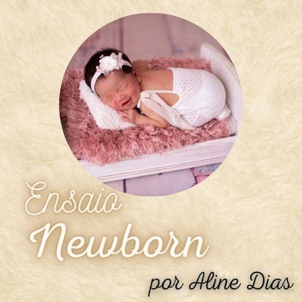 Imagem principal do produto Ensaio Newborn por Aline Dias
