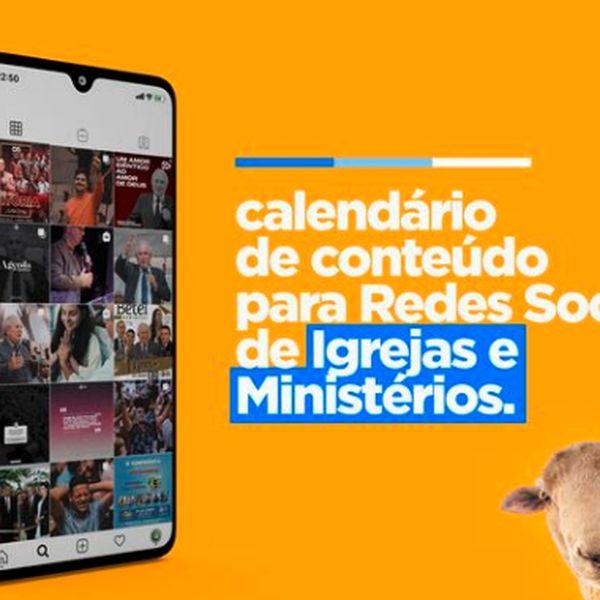 Imagem principal do produto Calendário de Conteúdo para Igrejas e Ministérios [AM]