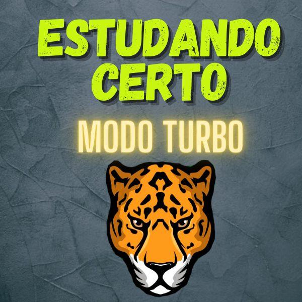 Imagem principal do produto Estudando Certo - MODO TURBO