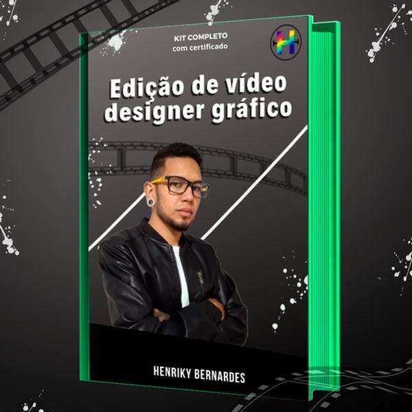 Imagem principal do produto Designer Gráfico Edição de Vídeo
