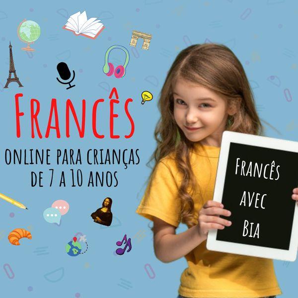 Imagem principal do produto FRANCÊS ONLINE PARA CRIANÇAS ( módulo 1)