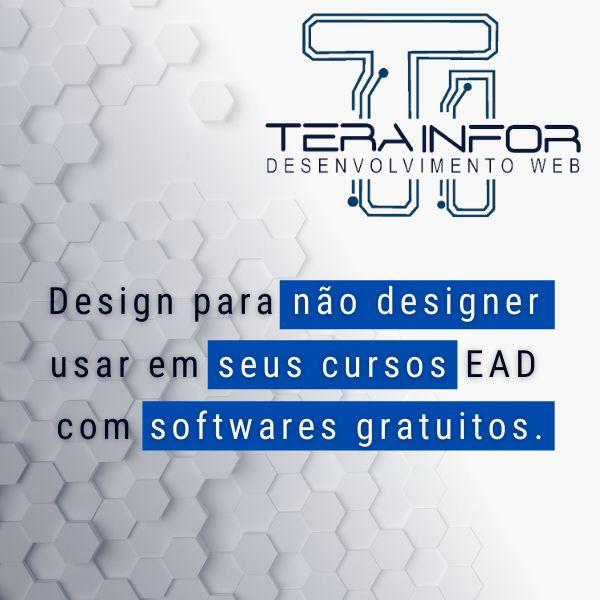 Imagem principal do produto Design para não designer usar em seus cursos EAD com softwares gratuitos