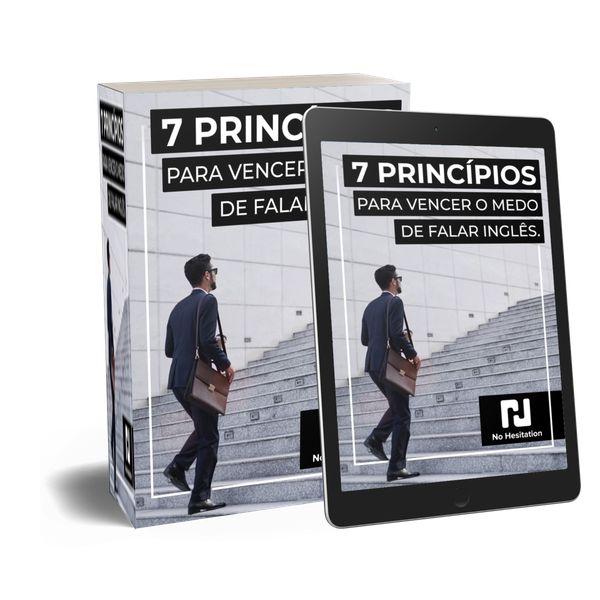 Imagem principal do produto 7 Princípios para vencer o medo de falar inglês.