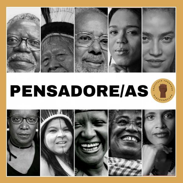 Imagem principal do produto Formação Antirracista: Pensadore(a)s indígenas e negro(a)s