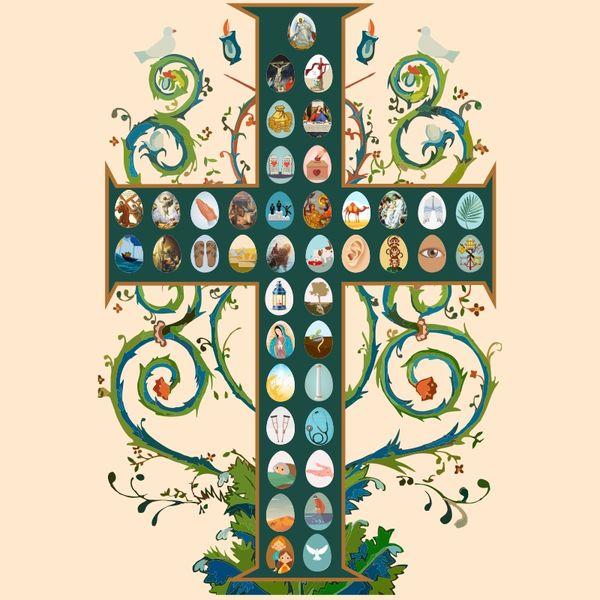 Imagem principal do produto Árvore de Jesus - para impressão