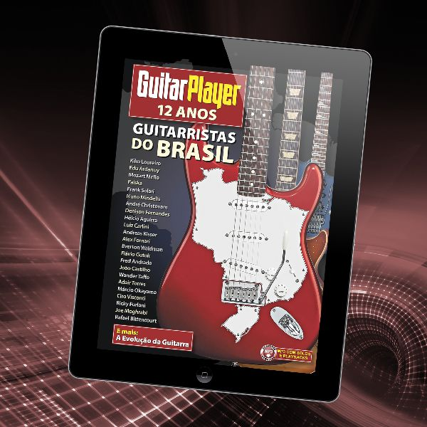 Imagem principal do produto Guitar Player 12 anos • Guitarristas do Brasil
