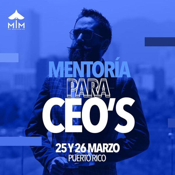 Imagem principal do produto Mentorías CEO's Puerto Rico