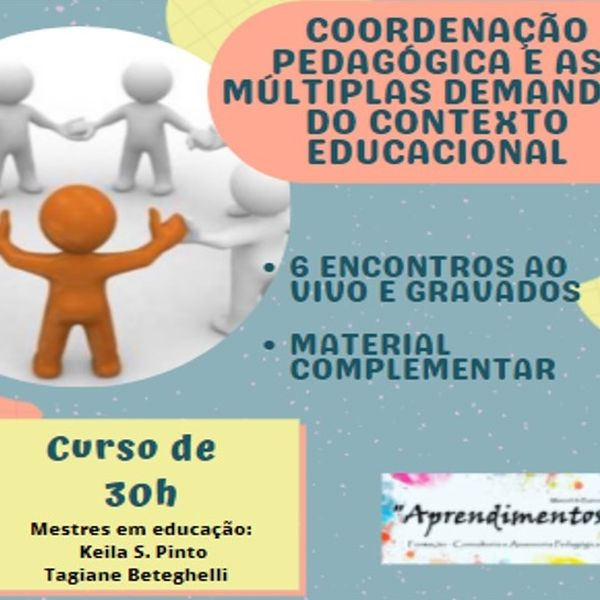 Imagem principal do produto Coordenação Pedagógica e as múltiplas demandas do contexto educacional