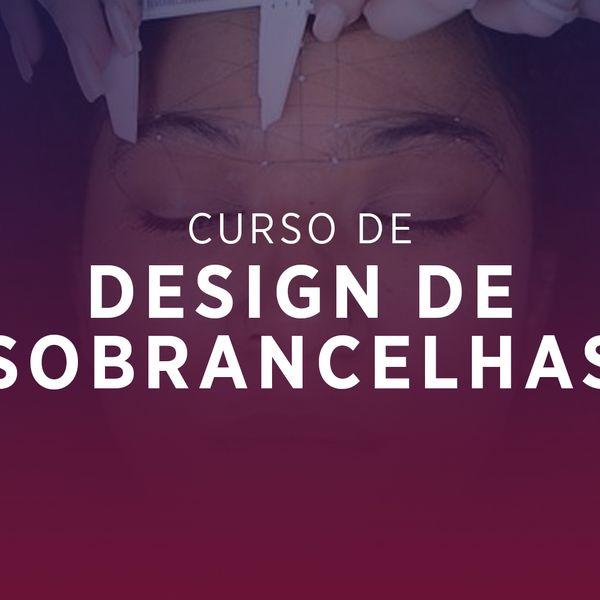 Imagem principal do produto Curso de Design de Sobrancelhas