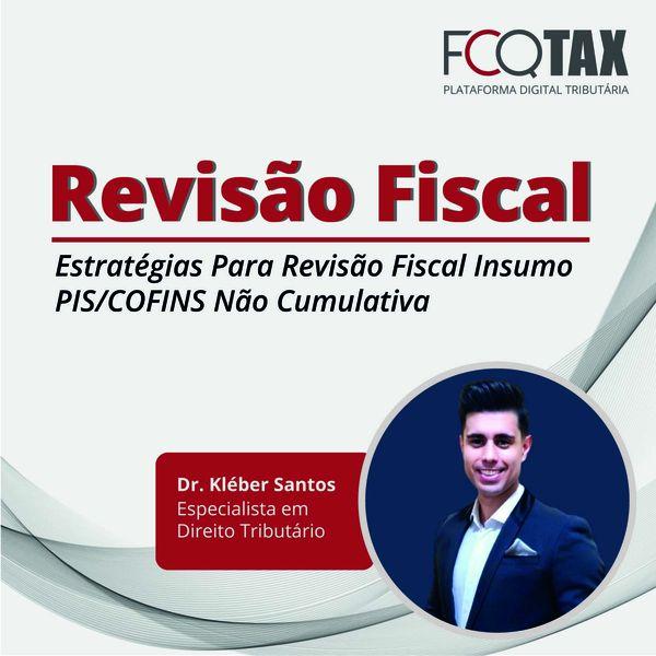 Imagem principal do produto Estratégias Para Revisão Fiscal Insumo PIS/COFINS Não Cumulativa