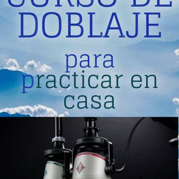 Imagem principal do produto CURSO DE DOBLAJE