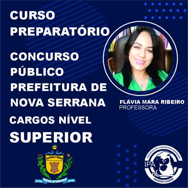 Imagem principal do produto CURSO PREPARATÓRIO PREFEITURA DE NOVA SERRANA