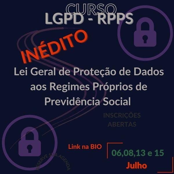 Imagem principal do produto LGPD para RPPS SULPREV CONSULTORIA E GESTAO DE NEGÓCIOS ME CNPJ 11.370.403/0001-49