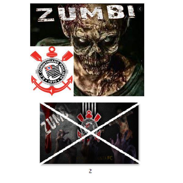 Imagem principal do produto Corinthians zumbi foto para estampar camisetas 2