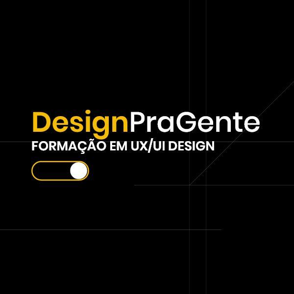 Imagem principal do produto Design pra Gente - Curso básico de formação em UX