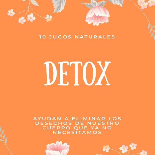 Imagem principal do produto Jugos naturales - Detox