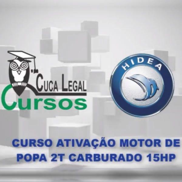 Imagem principal do produto Curso Motor de Popa 2 Tempos Carburado 15 HP Hidea