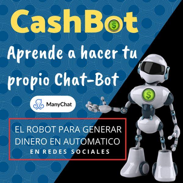 Imagem principal do produto CASH-BOT: Aprende a Hacer Tu Propio Chat-Bot
