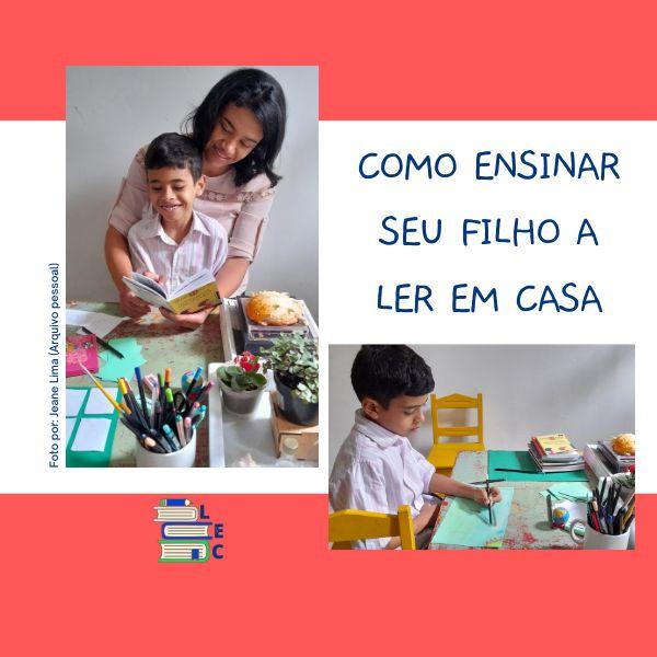 Imagem principal do produto COMO ENSINAR SEU FILHO A LER EM CASA