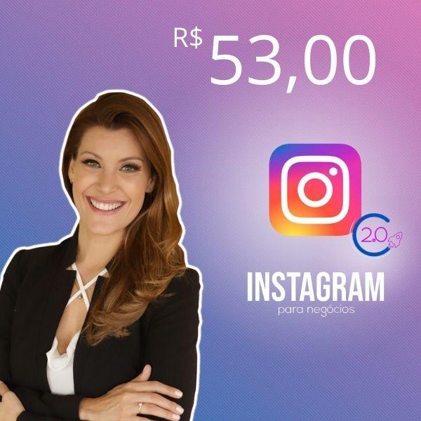 Imagem principal do produto Curso Instagram 2.0 para negócios