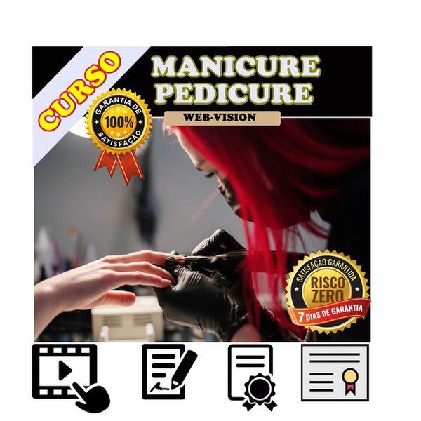 Imagem principal do produto Curso Manicure e Pedicure - COM CERTIFICADO