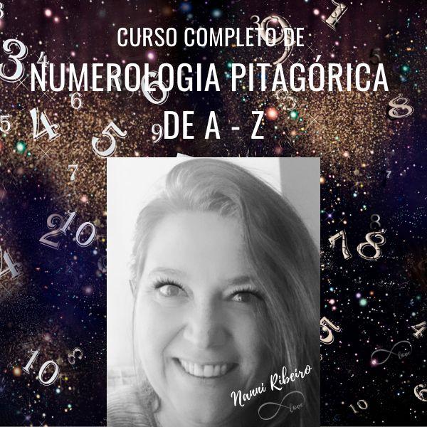 Imagem principal do produto Curso Completo de Numerologia Pitagórica de A a Z