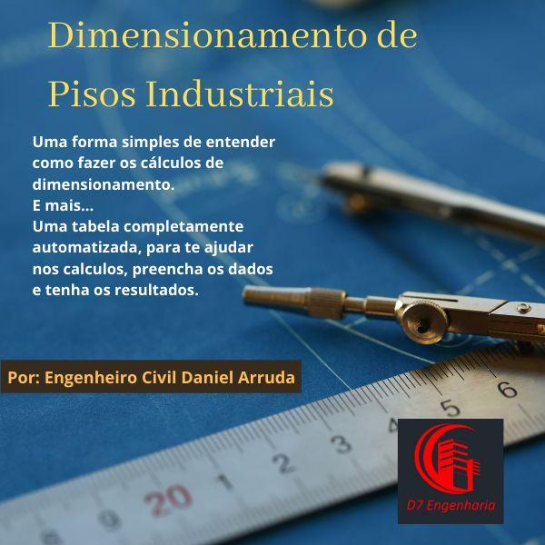 Imagem principal do produto Dimensionamento de Pisos Industriais