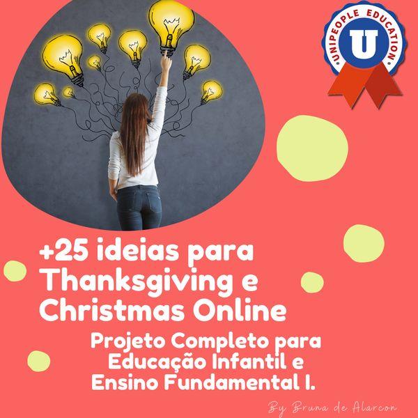 Imagem principal do produto +25 ideias para Thanksgiving e Christmas Online