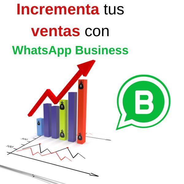Imagem principal do produto Incrementa tus ventas con WhatsApp Business
