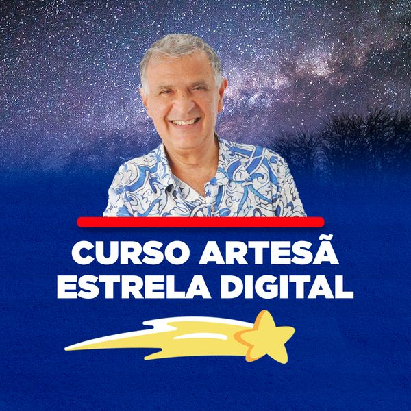 Imagem principal do produto Curso Artesã, Estrela Digital!